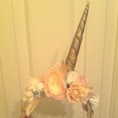 Magical Floral Unicorn Headband