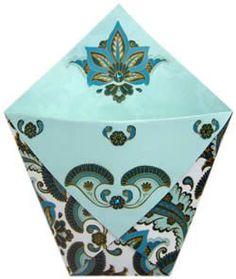 Ideas For Origami Envelope Tutorial Treat Box Origami Gift Bag, Cute Origami, Origami Envelope, Useful Origami, Simple Origami, Origami Ideas, Envelope Box, Origami Folding, Paper Gift Bags