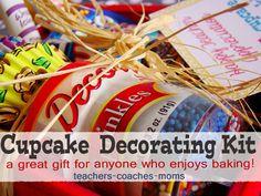DIY Cupcake Decorating Kit