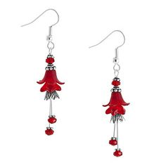 Flowers for My Love Earrings | Fusion Beads Inspiration Gallery