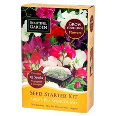 Sweet Pea Seed Starter Kit