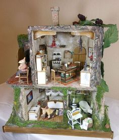 1:24 mouse house - incredible detail!: