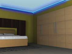 The LUMILUM LED strip light is ideal for background lighting for furniture and furnishings. The close LED grouping on the strip provides uniform lighting. The strip light can be shortened individually and is therefore extremely flexible from a processing point of view. www.lumilum.com