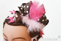 DIY: Over a The Top Stacked Hair Bow Tutorial