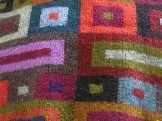 kaffe's squares scarf...