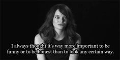 emma stone is a smart girl