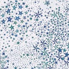 Tissu liberty Adeladja bleu