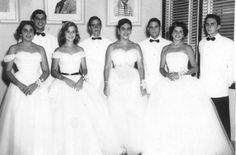 Fiesta de Debutantes (Debutante Ball) 1955 Miramar Yacht Club