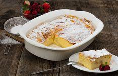 """Was versteckt sich hinter """"Millirahmstrudel""""? Der so in Wien bezeichnete Milchrahmstrudel. Das Besondere: Hauchdünner Strudelteig, eine köstliche Füllung aus Topfen, Sauerrahm und QimiQ Saucenbasis und ein feiner Überguss on top. Yummy Food, Delicious Recipes, Camembert Cheese, Dairy, Sweet, Desserts, Chef Recipes, Puding Cake, Proper Tasty"""