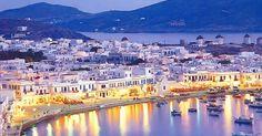 Passeios românticos em Mykonos | Grécia #Grécia #Mykonos #europa #viagem
