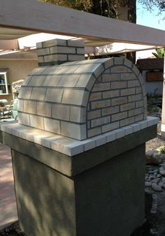 BrickWood Ovens - The Misrack Family Wood Fired Brick Pizza Oven Diy Pizza Oven, Pizza Oven Outdoor, Outdoor Cooking, Wood Oven, Wood Fired Oven, Bbq Equipment, Bricks Pizza, Bread Oven, Four A Pizza