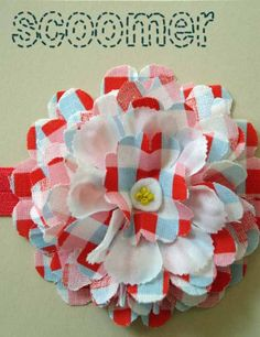 Carnival Fabric Flower Headband