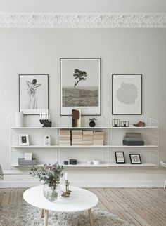 etagere bibliotheque, moderne, petite table basse