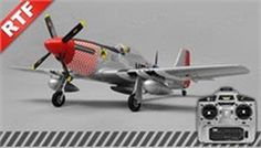 Airfield P51 4 Channel Warbird Ready to Fly 2.4Ghz 800mm Wingspan (Silver) #Glimpse_by_TheFind