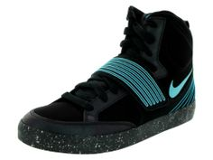 sports shoes 9fbe6 a2a35 Amazon.com Nike NSW Skystepper Men US 7.5 Black Basketball Shoe Sports   Outdoors