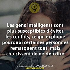 rien n' est plus vrai ! Things To Know, Did You Know, Quote Citation, Daily Meditation, French Quotes, Funny Facts, Positive Attitude, Cool Words, Decir No