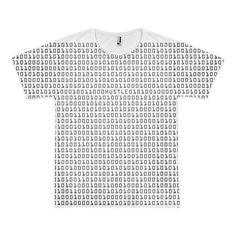 Hip Hop Shirt Binary 'Hustle'