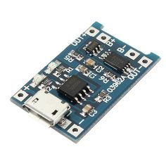 US$ 1.55 (Rs.101) USB Lithium Battery Charger Module Board With Charging And Protection - US$1.55