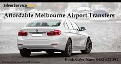 Book #Affordable #Melbourne #Airport #Transfers by call to Silverservice24x7 #Taxi #Melbourne at 0452 622 391 or book cabs online at Book@silverservice24x7.com For more visit at www.silverservice24x7.com