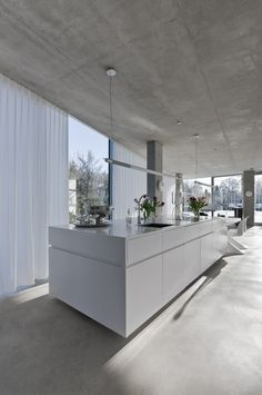 H' House in Maastricht, Netherlands, by Wiel Arets Architects