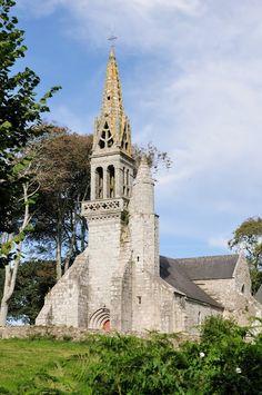 Poullan-sur-Mer, la chapelle Notre Dame de Kérinec. Bretagne