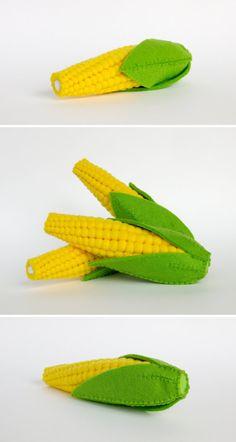 Nourriture jouer feutre feutre alimentaire maïs Eco par MyFruit