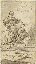 Rosa, Salvator - Umkreis: Römischer Feldherr und Soldat