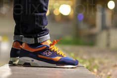 Cool shape of the New Balance 1500 #sneakers