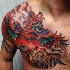 #onesession#inprogres#fenix#neotradicional#neotrad#tattooedboy#tattooart#tattooday#tattooidea#tattoocolor#tattoospain#fire#zaragozatattoo#barcelonatattoo#madridtattoo#shio#shio1red…