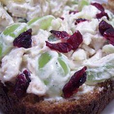 Holiday Chicken Salad Allrecipes.com
