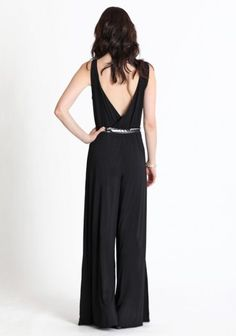 low back jump suit.