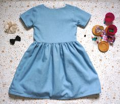 Robe Chambray fille