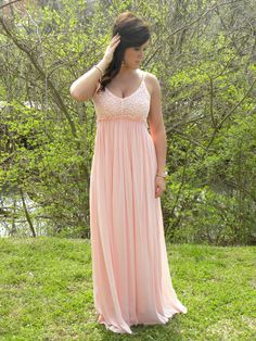 Just Call Me Angel Maxi.  Perfect for weddings or the beach.  Pink or white.