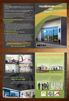 Graphic Design design (Design #4767353) submitted to transportable home brochure (Closed)