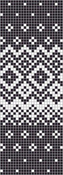 Patterns of jacquard pattern Fair Isle Knitting Patterns, Fair Isle Pattern, Knitting Charts, Loom Knitting, Knitting Stitches, Knitting Designs, Knitting Socks, Knitting Tutorials, Knitting Machine