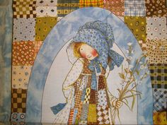 Holly Hobbie Fabric Panel to sew