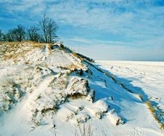15 Reasons to Visit Lake Michigan in Winter - Here's how to enjoy Lake Michigan in winter, from climbing a frozen dune to indulging in all-weather gallery hopping - at Midwest Living
