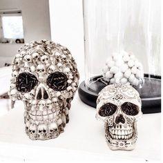 Sixtydays Skull of Love Memento Mori, Home Collections, Skull, Boho, Tattoos, Interior, Personality, Pink, Fresh