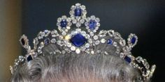 The Royal Order of Sartorial Splendor: Tiara Thursday: The Modern Sapphire Tiara