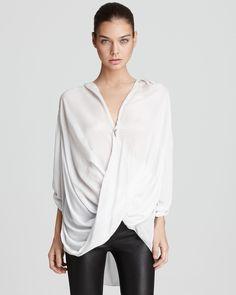 Helmut Lang Shirt - Overlap | Bloomingdale's