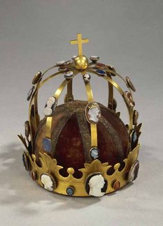 The Crown of Charlemagne, retained by the Louvre. It was commissioned by Napoleon