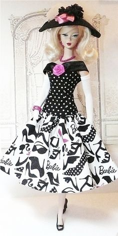Day Dresses & Afternoon Ensembles/Donnas Doll Designs