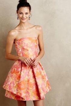 Trina Turk Minata Jacquard Dress
