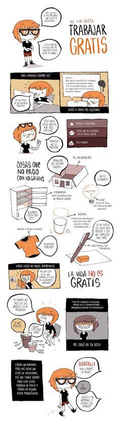 Caniculadas: Que trabaje gratis tu p*** madre by Bea Tormo.