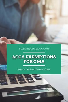 Many candidates would like to know if they can get ACCA exemptions for CMA if they want to become a Certified Management Accountant. Trying to find out the details? Read here to learn more: #CMA #ACCA #Accountant Exam Study Tips, Exams Tips, Career Path, Career Advice, Enrolled Agent, Accounting Student, How To Find Out, How To Become