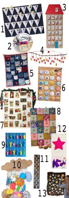 Ich habe 14 DIY Adventskalender für dich gebastelt! Na, gut - in sieben Jahren. Mit dem diesjährigen kannst du aktiv 24x dem Weihnachtsstress entgegenwirken!