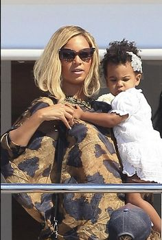Beyonce and Blue Ivy photos