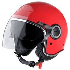 Vespa VJ Helmet - Red