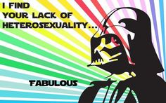 Star Wars needs more gay.