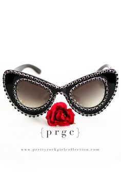 04498c38b9bb Our CHANEL BLACK sunglasses were inspired by the designer brand. Think chic  and sophistication!